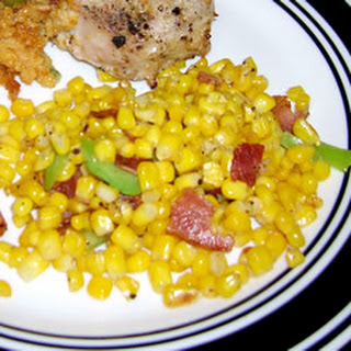 Fried Corn with Bacon