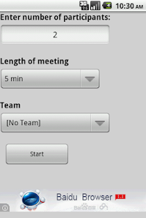 NR Standup Timer - screenshot thumbnail
