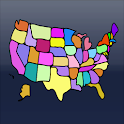 USA States Geography Memory icon