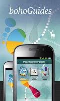 Screenshot of bohoGuides