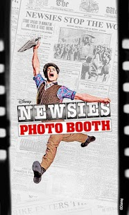 Newsies Photo Booth - screenshot thumbnail