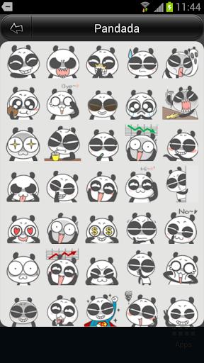 Pandada 이모티콘
