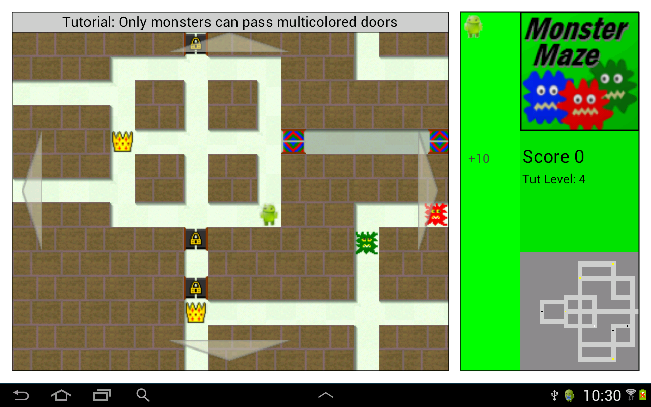 Monster Maze- screenshot
