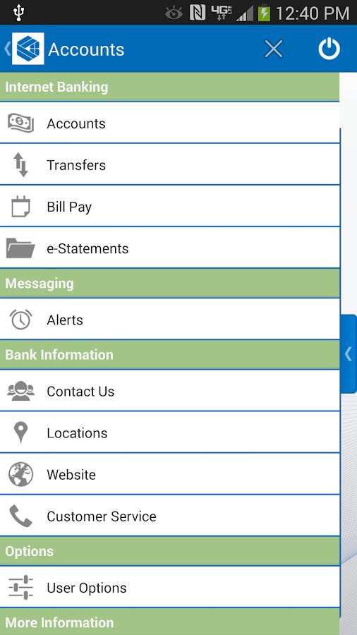 Center National Bank Mobile - screenshot