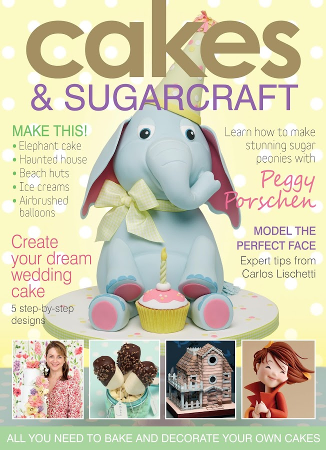 Cakes & Sugarcraft Magazine- screenshot