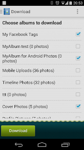 MyAlbum For Facebook - screenshot thumbnail