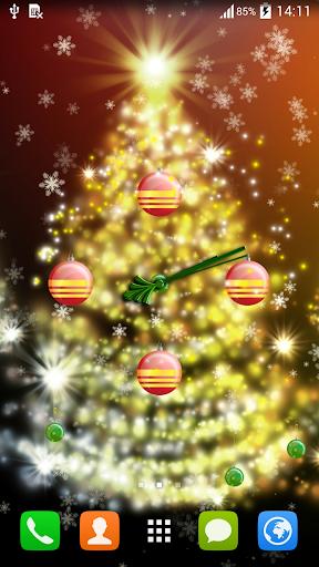 时钟圣诞节