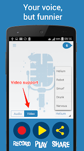 Helium Voice Changer + Video v2.9.4 Mod APK 2