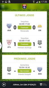 Futebol CBN Diário - screenshot thumbnail