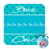 Blue Chic Go Launcher Theme