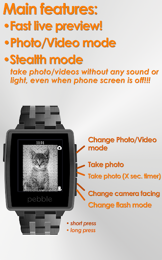 PblCamera - Camera for Pebble