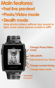PblCamera - Camera for Pebble vbearberry