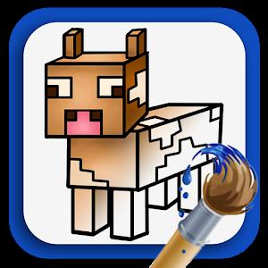 Målarbok: Minecraft APK