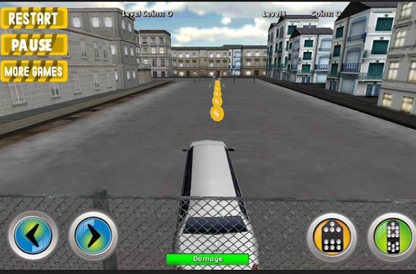 Duty City limousine Parking - screenshot