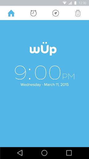 wÜp Traffic Alarm Clock