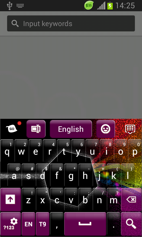 Color Evolution Keyboard - screenshot