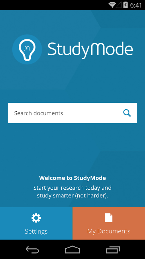 StudyMode - screenshot