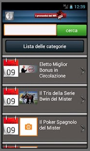I pronostici del mister - FULL - screenshot thumbnail