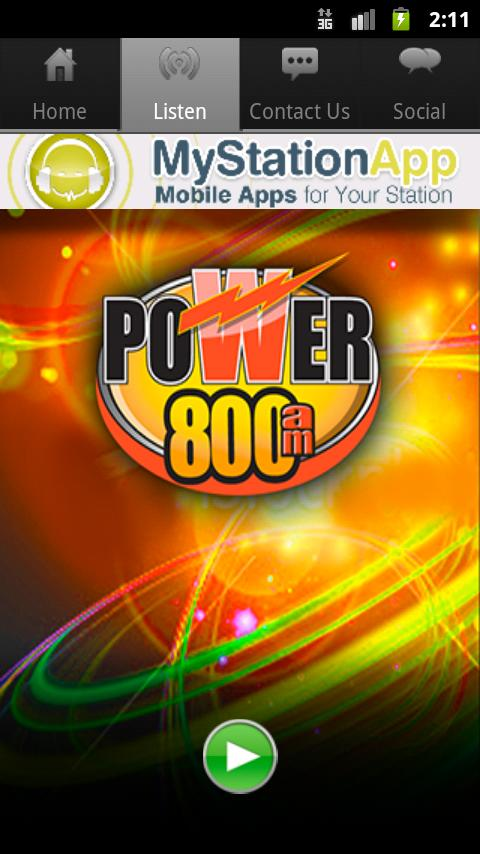 Power 800 - screenshot