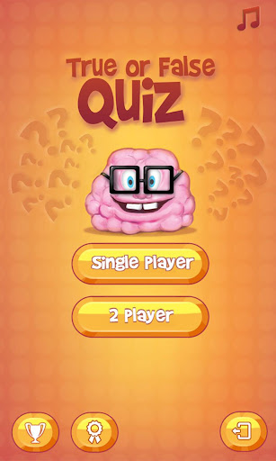 Brainy True False Quiz