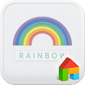 Rainbow dodol launcher theme icon