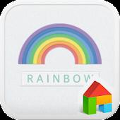 Rainbow dodol launcher theme