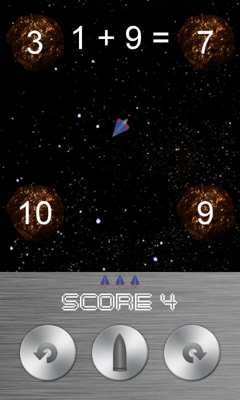 Sums In Space (free) - screenshot