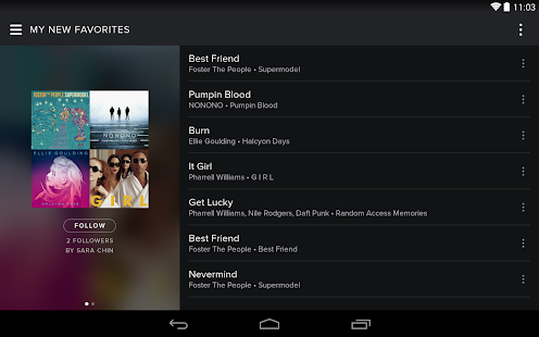 Spotify Music - screenshot thumbnail