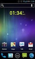 Screenshot of Clean Clock Widget