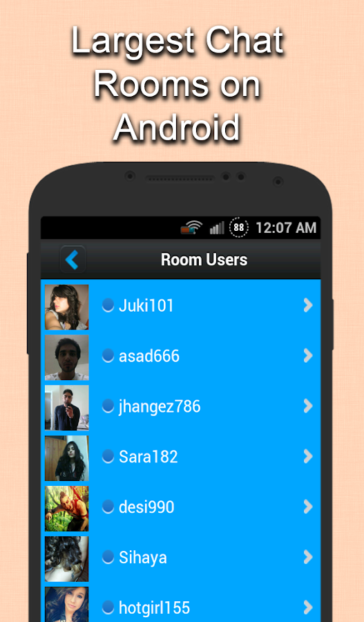 Live Chat Rooms- screenshot