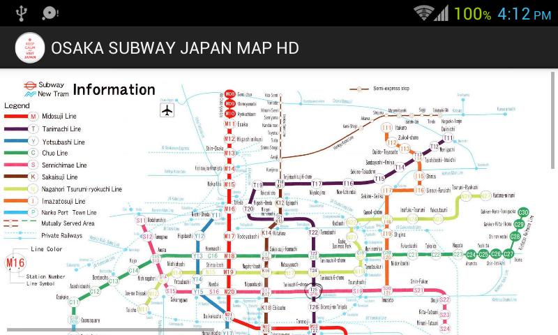 Subway Map Of Osaka.Download The Osaka Subway Japan Map Hd Android Apps On Nonesearch Com