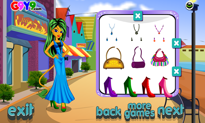 Shopping Girl Dress up - screenshot