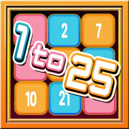 EverPuzzle : 1 to 25 LOGO-APP點子