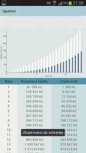 Finanční kalkulačky- screenshot thumbnail