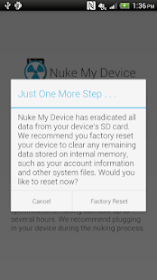 Nuke My Device - screenshot thumbnail