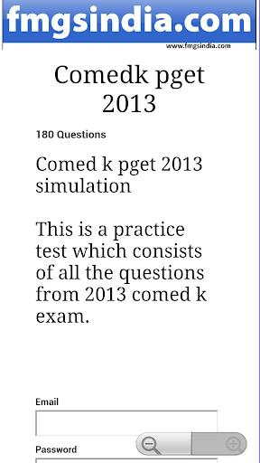 comed k pget practice