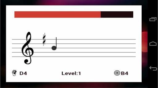 Приложение Sheet Music Trainer для планшетов на Android