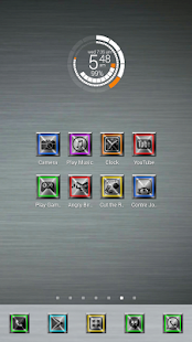 Metallon Theme 1200+ Icon Pack - screenshot thumbnail