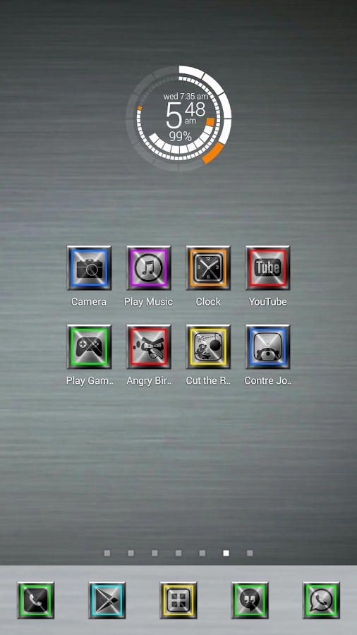 Metallon Theme 1200+ Icon Pack - screenshot