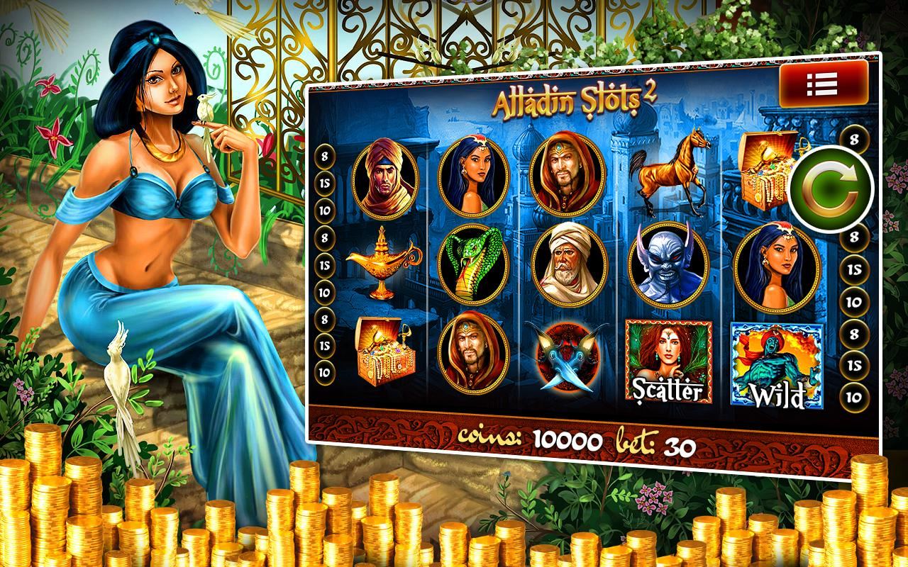 Aladdin Slot Machine - Play the Free 777igt Casino Game Online