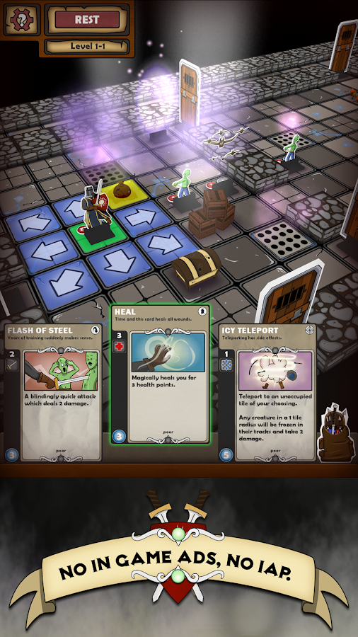 Card Dungeon- screenshot