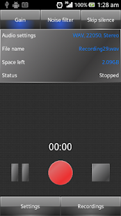 KZ Simple Voice Recorder - screenshot thumbnail