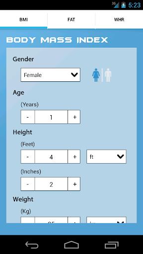 BMI Weight Loss Calculator