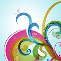 Aqua Curls Live Wallpaper icon