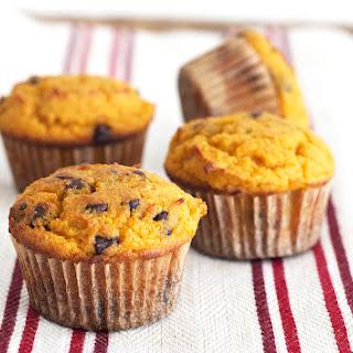 Pumpkin Muffins with Chocolate Chips (Grain Free, Paleo, Primal, Gluten Free)