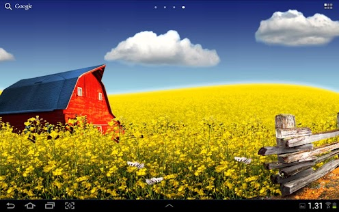 Countryside live wallpaper - screenshot thumbnail