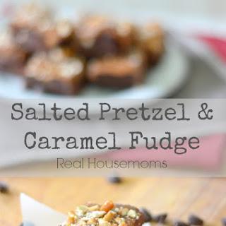 Salted Pretzel & Caramel Fudge.