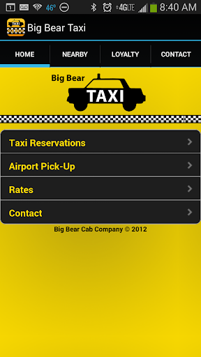 Big Bear Taxi