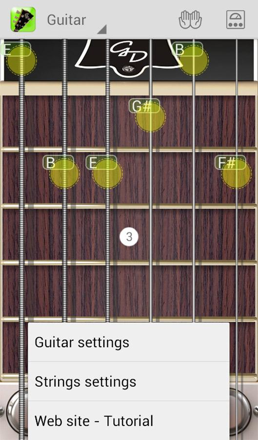 Guitar Droid Pro- screenshot