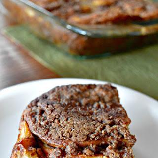 Cinnamon Roll Pancake Bake